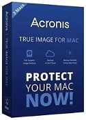 Acronis True Image for Mac Retail Box 1 Mac
