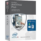 McAfee Antivirus Plus 2016 1 PC OEM Flat Pack