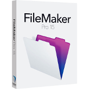 FileMaker Pro 15 Full Retail Box