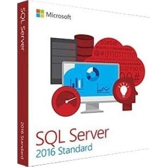 Microsoft SQL Server 2016 Standard With 10 CALs Full Retail Box